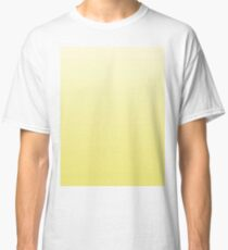 Bright Limelight Yellow Ombre Classic T-Shirt