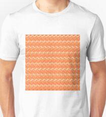 Rippled Orange   Unisex T-Shirt