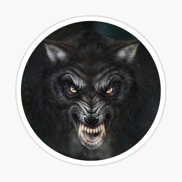 Dark Wolf Sticker