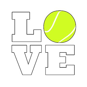 Tennis Love by BillyBoomstick