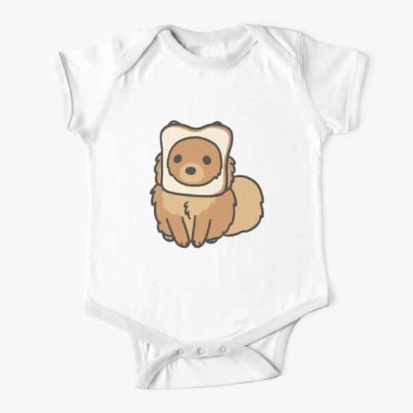 Pomeranian Short Sleeve Baby One-Piece