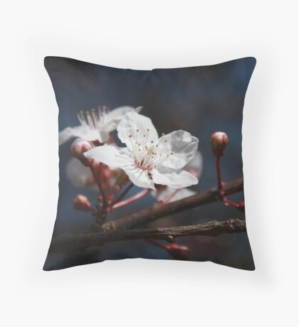 ... new life of spring ... Throw Pillow