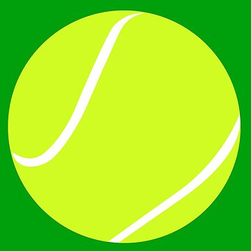 Tennis Ball Graphic by BillyBoomstick