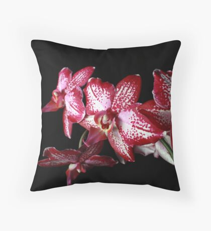 Fine Floral Throw Pillow