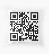 Dog Google image search - QR Code Throw Pillow