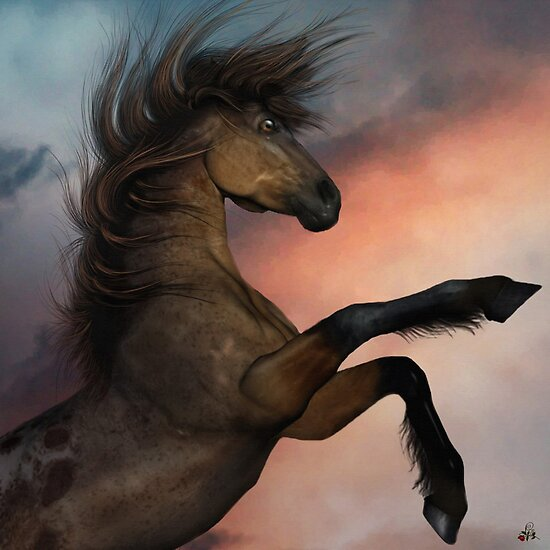The Mighty Stallion by Lisa  Weber