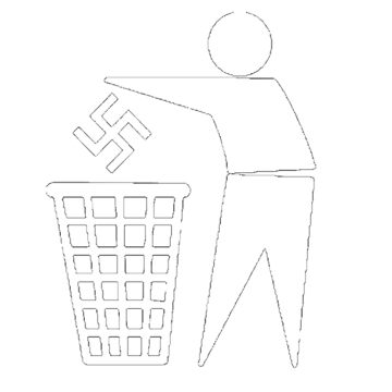swastika trash by Metalshit