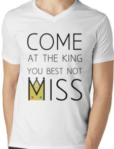 Come At The King Mens V-Neck T-Shirt