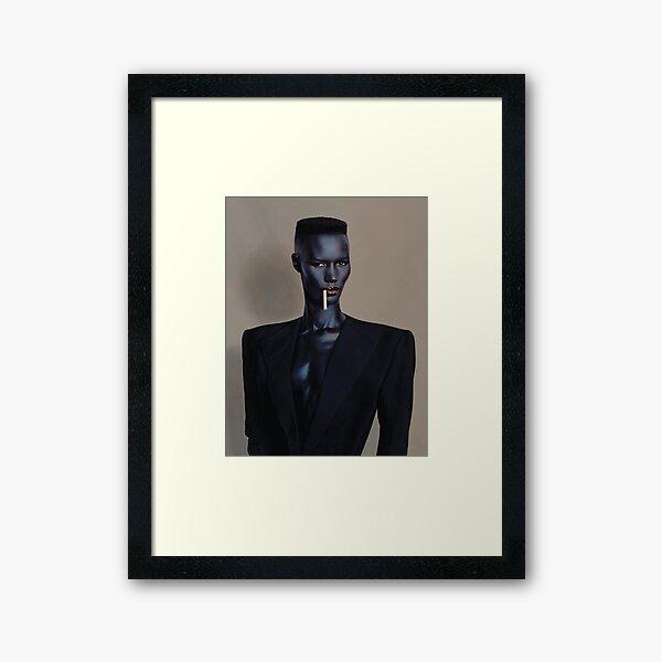 Night Clubbing - Grace Jones Framed Art Print