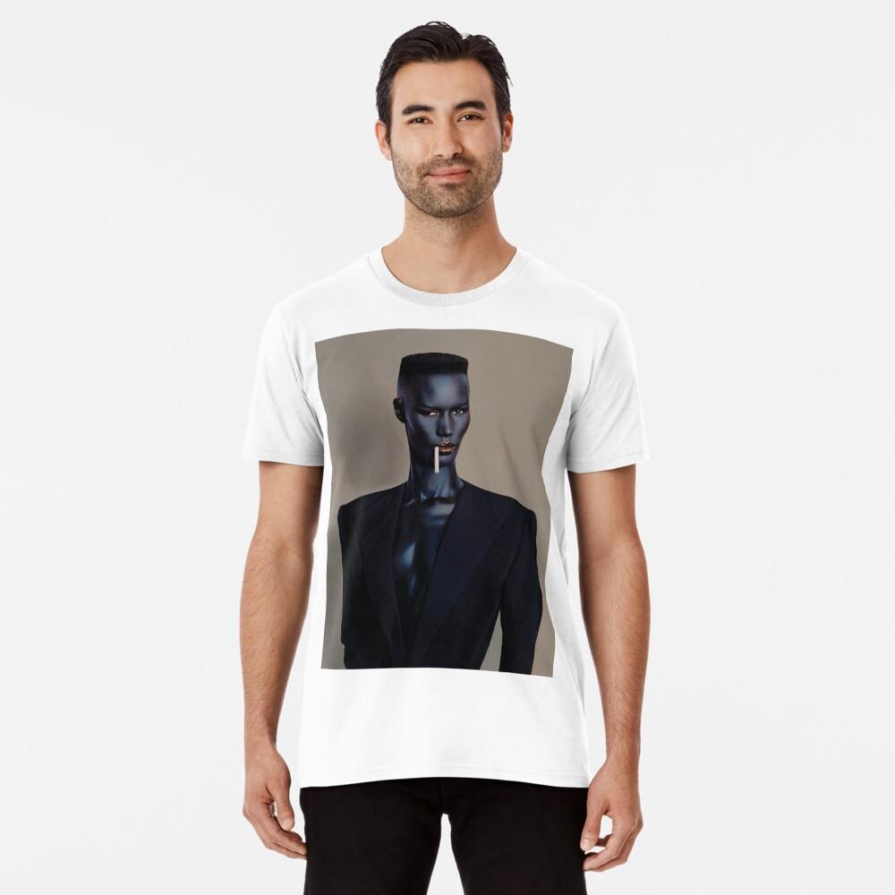 Nacht Clubbing - Grace Jones Premium T-Shirt