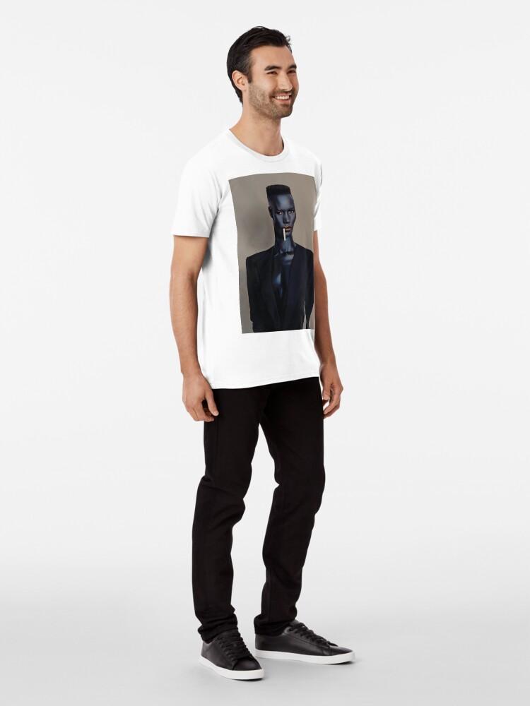 Alternative Ansicht von Nacht Clubbing - Grace Jones Premium T-Shirt