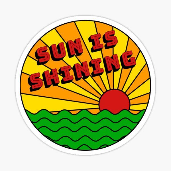 Bob Marley - El sol brilla Pegatina