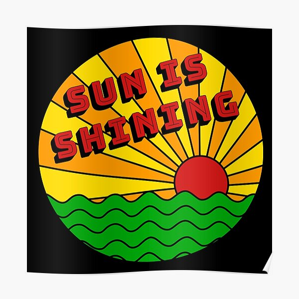 Bob Marley - Le soleil brille Poster
