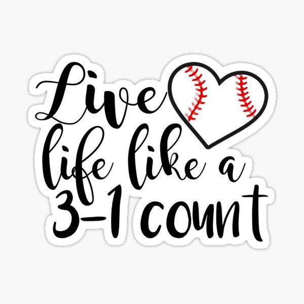 Baseball sticker Sticker