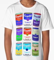 Andy Warhol Campbell Soup Cans  Long T-Shirt