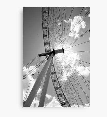 the big wheel turns Canvas Print