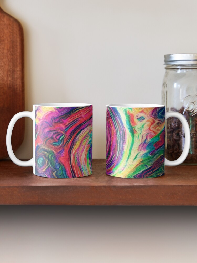 Alternate view of Swirl hook #Digital #Art Mug