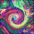 Swirl hook #Digital #Art by blackhalt