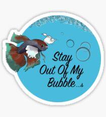 Betta Bubbble V2 Sticker