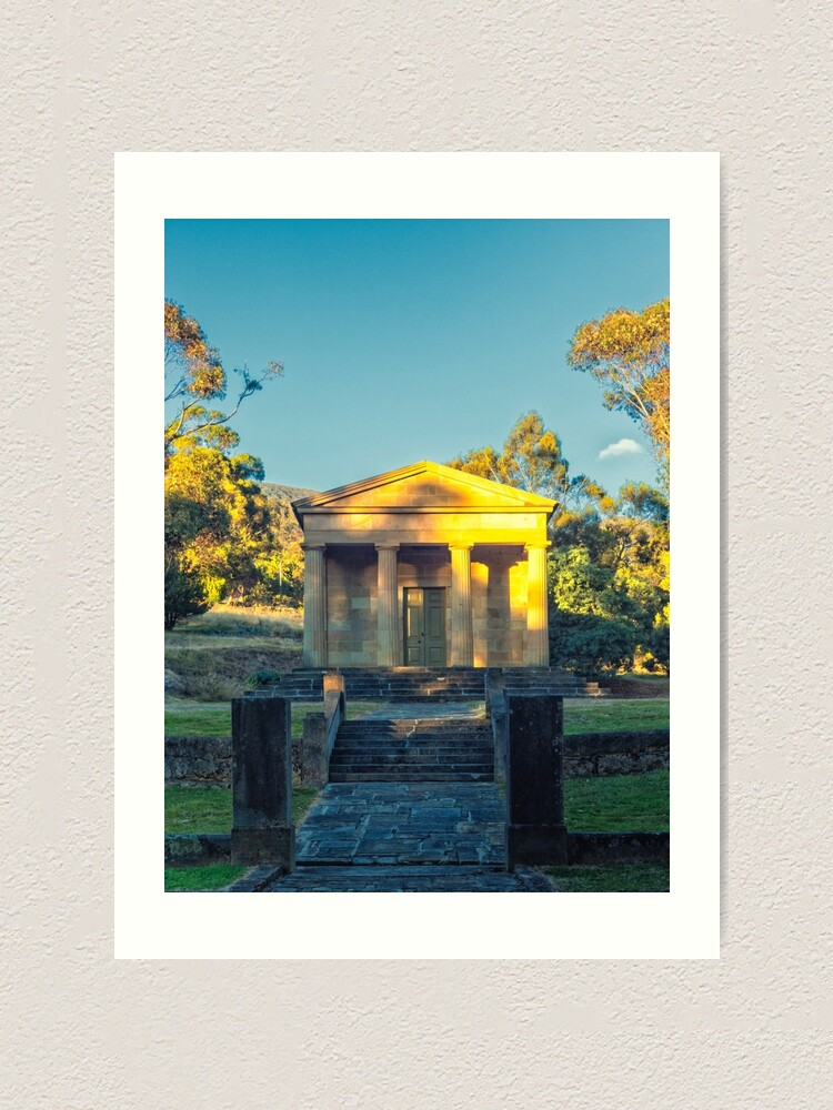 Alternate view of Lady Franklin Museum - Lenah Valley Art Print