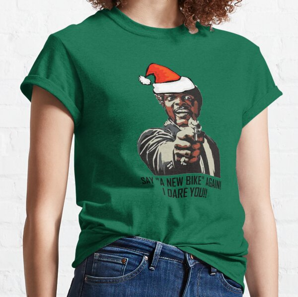 Samuel Jackson Say A New Bike Again Classic T-Shirt