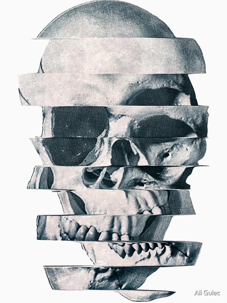 Glitch Skull Mono by aligulec