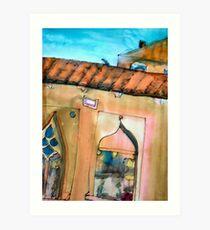 Florence Windows Art Print