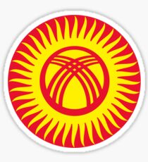 Kyrgyzstan Air Force - Roundel Sticker