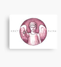 Don't Blink 2 Canvas Print