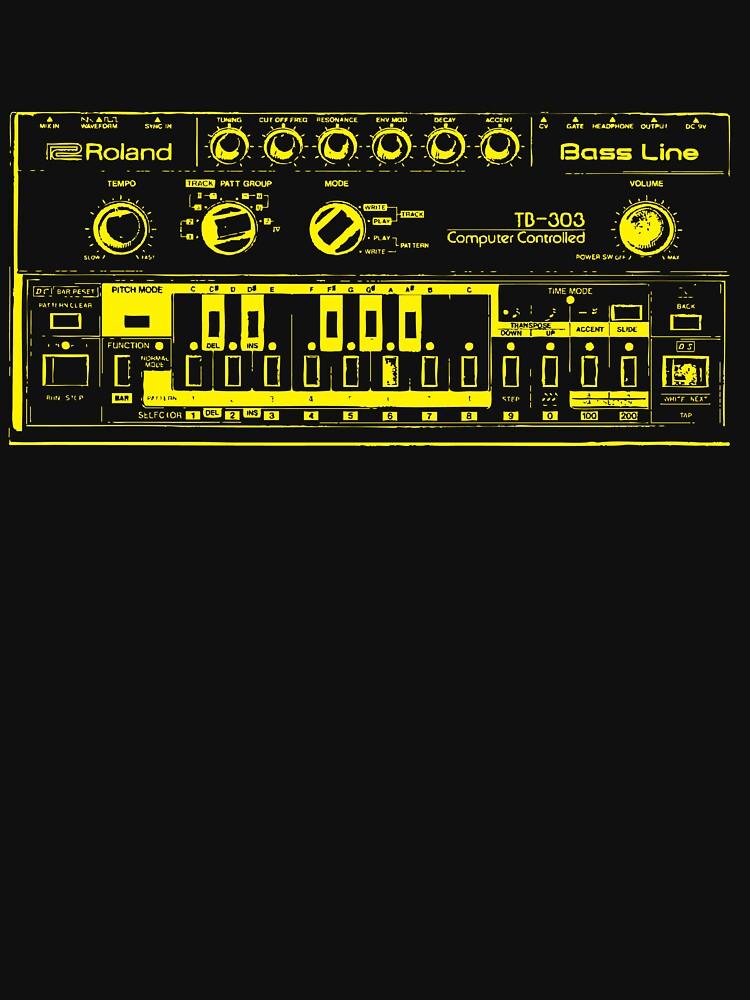 Roland TB-303 Bass Line | Unisex T-Shirt