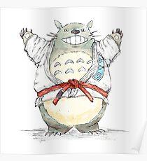 Red Belt Totoro Poster