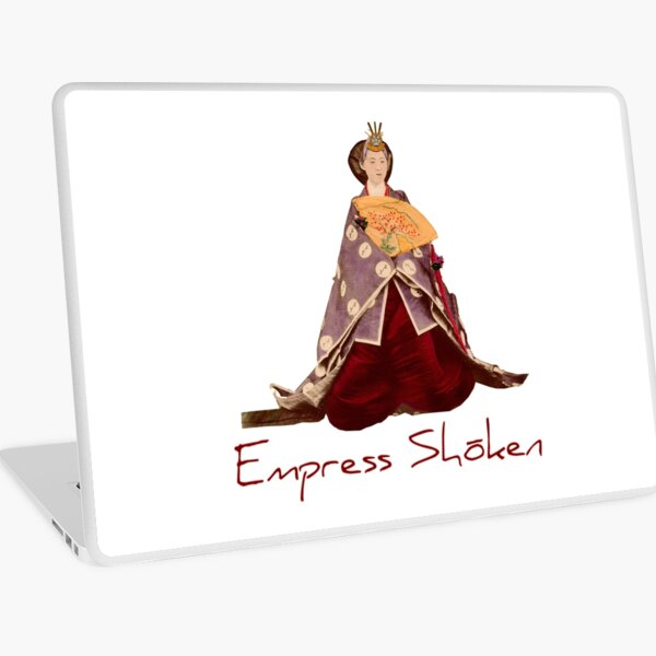 Japanese Empress Shoken Laptop Skin
