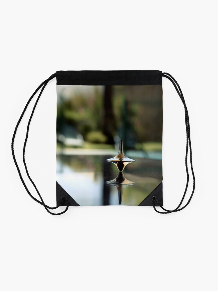 Alternate view of Inception Spinning Top Drawstring Bag
