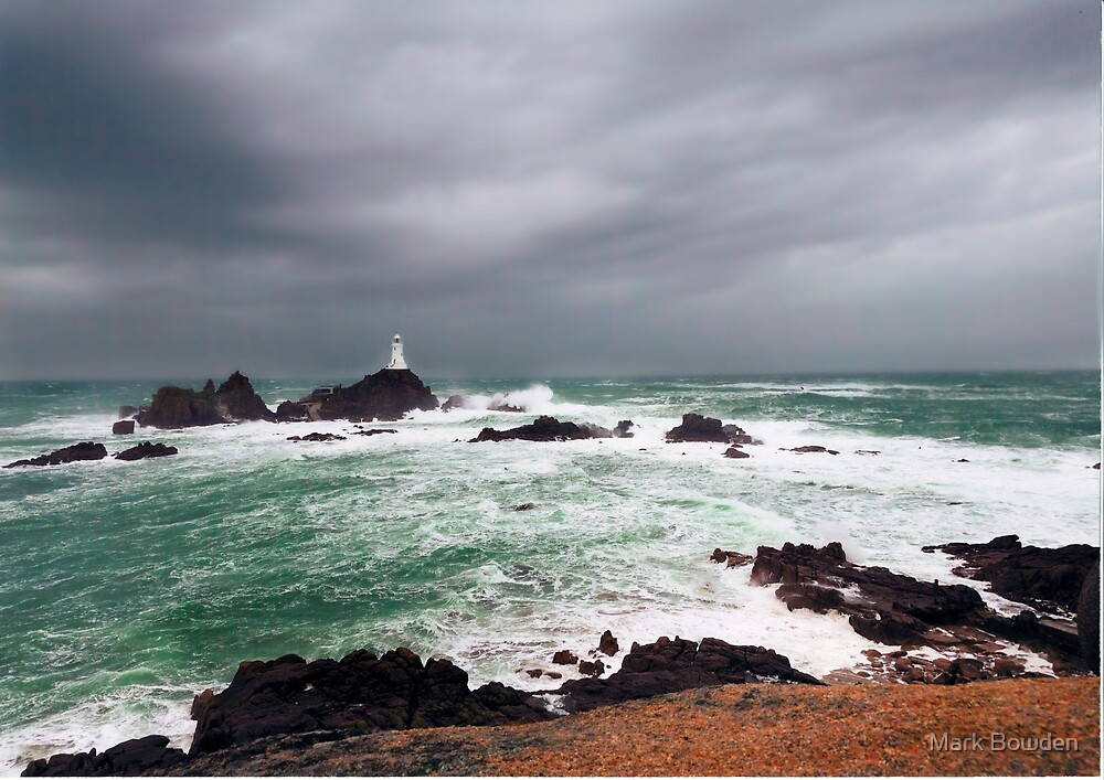 Corbiere Lighthouse by Mark Bowden