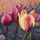 Tulips Oil Painting by Maria Meester