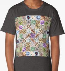 Cement tiling Long T-Shirt