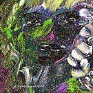 Artsy Neon Gal by Ginger Lovellette