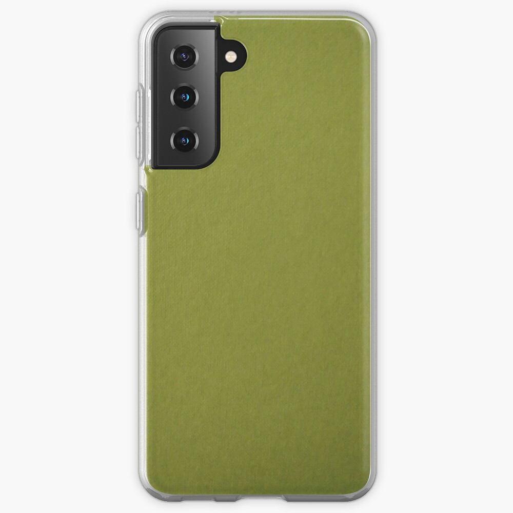 Green, surface, homogenous, smuth Samsung Galaxy Phone Case