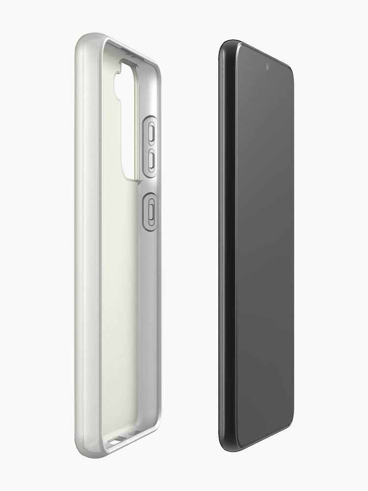Alternate view of Green, surface, homogenous, smuth Samsung Galaxy Phone Case