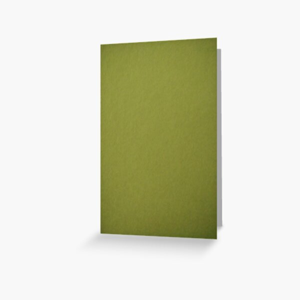 Green, surface, homogenous, smuth Greeting Card