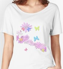 butterfly bloom Women's Relaxed Fit T-Shirt