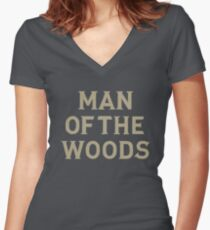 Justin Timberlake | Man Of The Woods Women's Fitted V-Neck T-Shirt