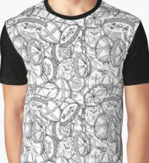 polish easter eggs black and white pisanki Graphic T-Shirt