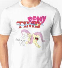 My Little Pony Adventure Time - Angel Bunny & Fluttershy T-Shirt