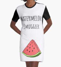 Funny Pregnancy Announcement Graphic T-Shirt Dress