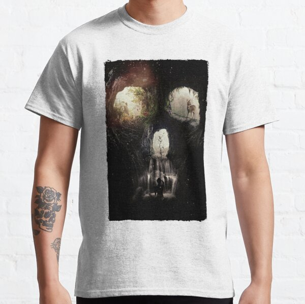 Cave Skull Classic T-Shirt