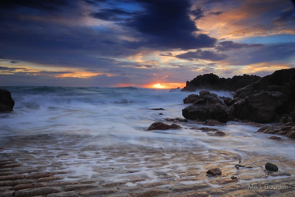 Stormy Sunset by Mark Bowden