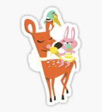 Party friends Sticker