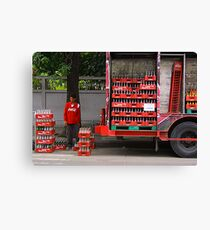 Cola Canvas Print