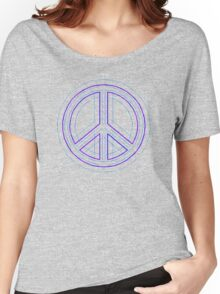 Peace Sign Symbol Abstract 4 Women's Relaxed Fit T-Shirt